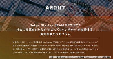 (後編)東京都は、「手も出す」~ハードウェアスタートアップ支援事業「Tokyo Startup BEAM」とは~大地の叫び Season2 Vol.1